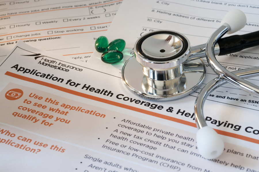 Application for Health Coverage form